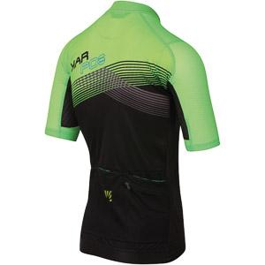 Karpos GREEN FIRE dres čierny/zelený fluo