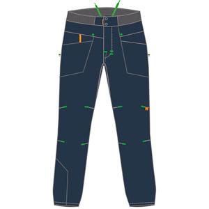 Karpos FAGGIO džínsové nohavice džínsové modré