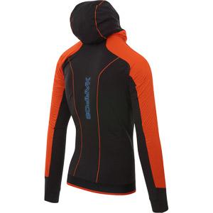 Karpos LAVAREDO WINTER bunda oranžová/čierna