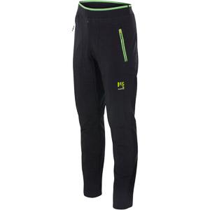 Karpos FEDERA nohavice tmavomodré/zelené fluo