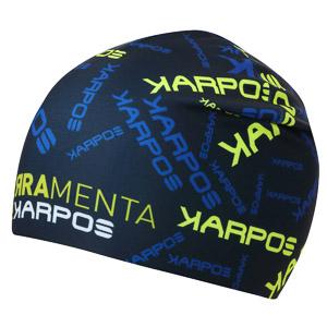 Karpos PIERRAMENTA RACE čiapka čierna/žltá/modrá