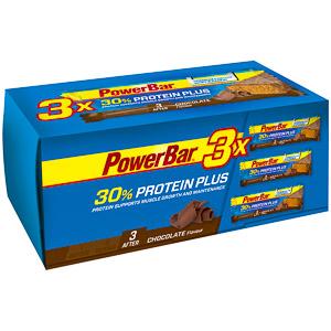 PowerBar ProteinPlus 30% tyčinka 55g Čokoláda Trio Pack