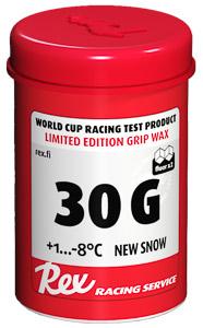 Rex Racing Grip stúpací vosk 30G, +1.....-8 C nový sneh