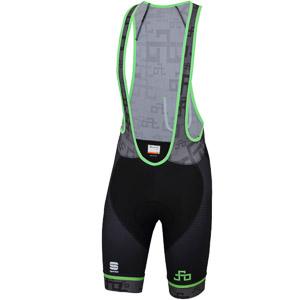 Sportful SAGAN LOGO BodyFit CLASSIC nohavice tmavosivé