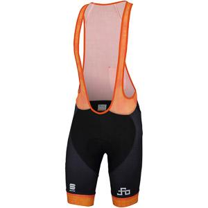 Sportful SAGAN LOGO BodyFit CLASSIC nohavice oranžové