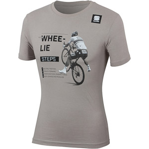 Sportful SAGAN WHEE-LIE TEE tričko sivé