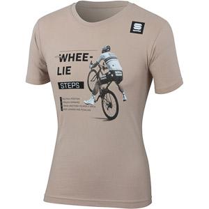 Sportful SAGAN WHEE-LIE TEE tričko béžové