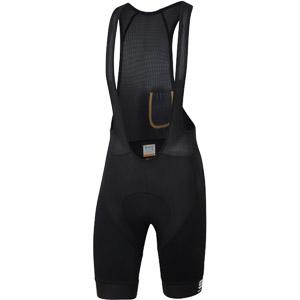 Sportful SAGAN GOLD bodyfit cl kraťasy s trakmi čierne