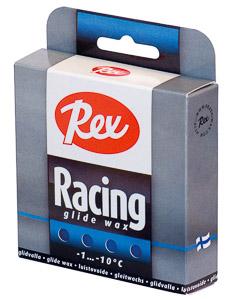 Rex Racing glide sklzový parafín 2x43g Modrý -1..-10 C
