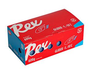 Rex Racing sklzový parafín 6*100g Racing Modrý -1..-10 C