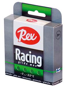 Rex Racing glide sklzový parafín 2x43g Zelený -8...-20 C