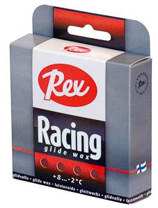 Rex Racing glide sklzový parafín 2x43g Červený +4…0 C