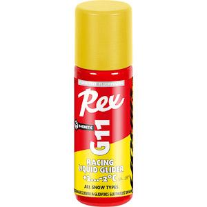 Rex bezfluorový vosk G11 žltý +10...-2 C  tekutý s hubkou 60 ml