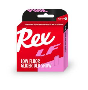 Rex LF Nízkofluórový vosk NOVÝ Ružový starý sneh