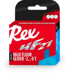 Rex HF21 modrý vysokofluorové vosky -2 ... -8 C 40 g