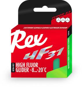 Rex HF31 zelený vysokofluorový vosk -8 ...-20 C 40 g