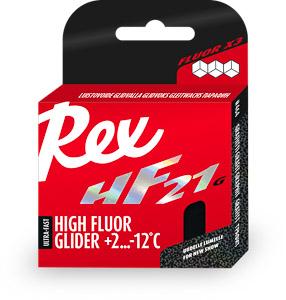 Rex HF21 grafitový vysokofluorový vosk +2 ...-12 C 40 g