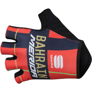 Sportful RACE TEAM rukavice Bahrain-Merida červené/modré