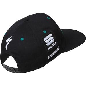 Sportful SNAPBACK šiltovka Bora-hansgrohe čierna