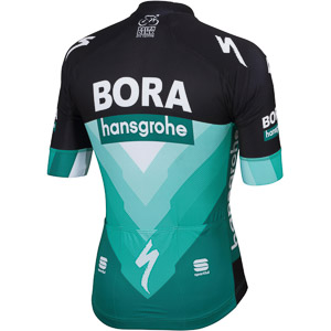 Sportful BODYFIT TEAM dres Bora-hansgrohe čierny/Bora zelený