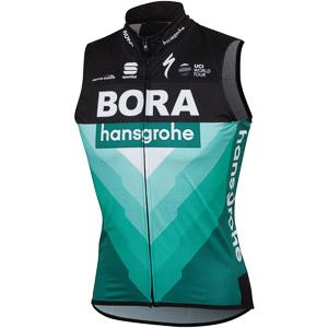 Sportful BODYFIT PRO WIND vesta Bora-hansgrohe čierna/BORA zelená