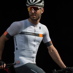 Sportful Dolomiti Race Bodyfit Pro EVO dres sivý