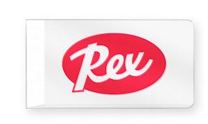 Rex akrylová škrabka 4mm s klinom