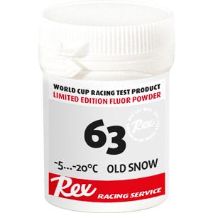 Rex 63 prášok starý sneh -5...-20 C