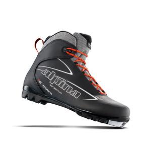 Alpina Topánky na bežky T5, čierna, biela