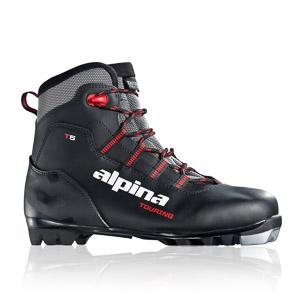 Alpina Topánky na bežky T5 čierno/strieborné