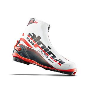 Alpina Topánky na bežky RCL  2.0  bielo čiermo červené