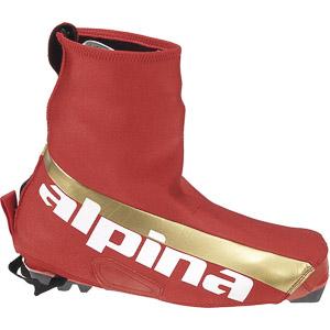 Alpina návleky na bežecké topánky, červené zlaté 40/42