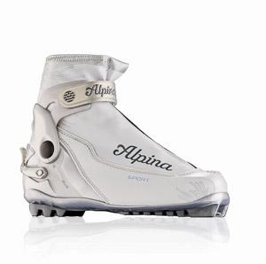 Alpina Topánky na bežky S Combi EV biele