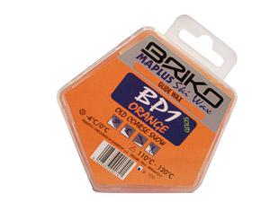Briko Maplus vosk parafín BP1 ORANGE 100g -4...0 C