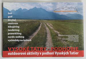 Cyklomapa Vysoké Tatry - Podhorie
