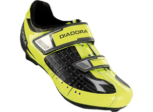 Diadora Phantom Cestné Tretry detské čierne/žlté