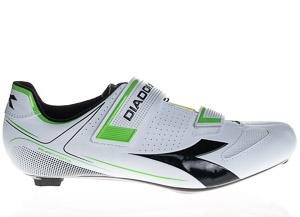 Diadora Phantom 2 Cestné Tretry biele/zelené
