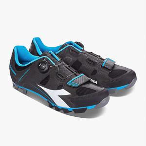 Diadora MTB tretry X Vortex Racer 2 čierne/modré