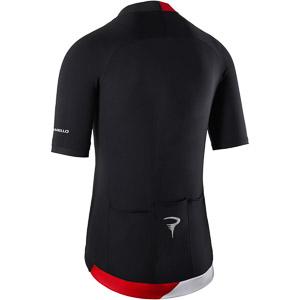 Pinarello ELITE dres Think Asymmetric čierny/červený