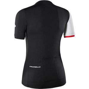 Pinarello Elite dámsky dres Think Asymmetric čierny/biely/červený