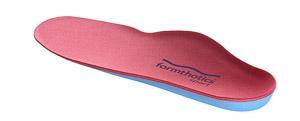 Formthotics SKI vložky do lyžiarok červené/modré