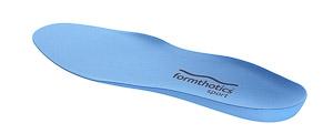 Formthotics FOOTBALL Single modré vložky do kopačiek/tretier