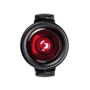 MOST RED EYE LED Blikačka červená okrúhla čierna