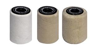 Maplus rotačná kefa Polyester&Merino vlna set 10 cm