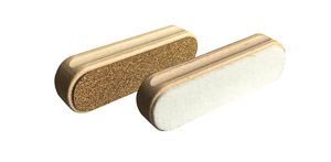 Maplus Cork/fel brush 135x42x39 mm.