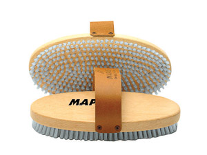 Maplus oválna ručná kefa Hard nylon