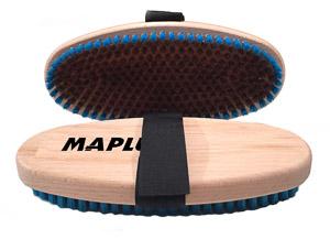 Maplus oválna ručná kefa Hard mosadz