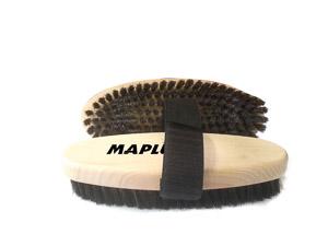 Maplus oválna ručná kefa oceľ soft