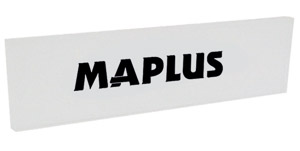 Maplus snowboard plexi škrabka 260x70x5mm