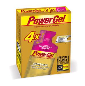 PowerBar PowerGel 41g Jahoda/Banán 3+1 zdarma